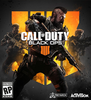 Cover for Call of Duty: Black Ops 4.