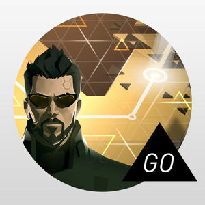 Cover for Deus Ex Go.