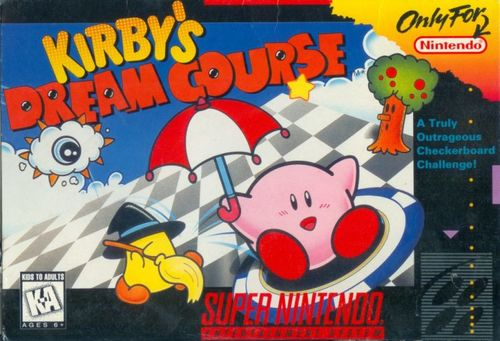 Cover for Kirby's Dream Course.