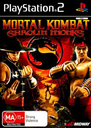 Cover for Mortal Kombat: Shaolin Monks.