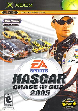 Cover for NASCAR 2005: Chase for the Cup.