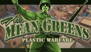 Cover for The Mean Greens - Plastic Warfare.