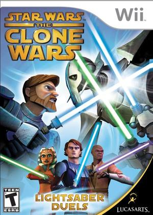 Cover for Star Wars: The Clone Wars – Lightsaber Duels.