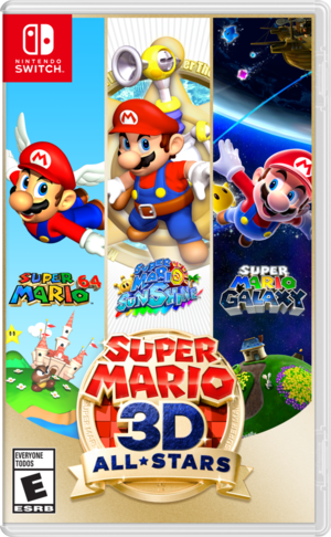 Cover for Super Mario 3D All-Stars.