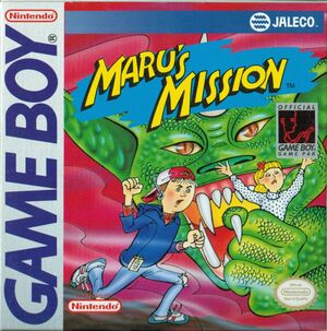 Cover for Maru's Mission.