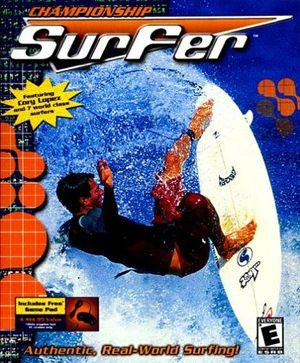 Cover for Championship Surfer.