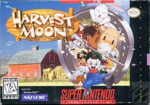 Cover for Harvest Moon.