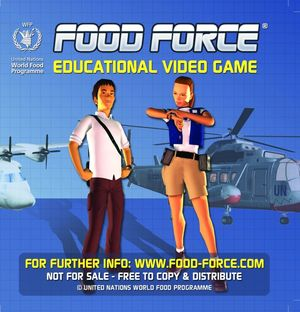 Cover for Food Force.