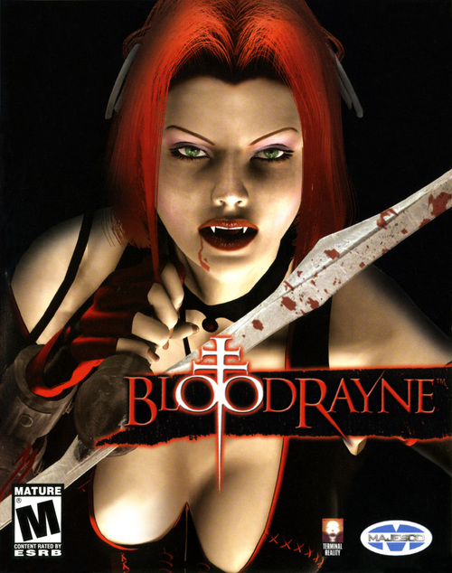 Cover for BloodRayne.