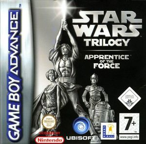 Cover for Star Wars Trilogy: Apprentice of the Force.