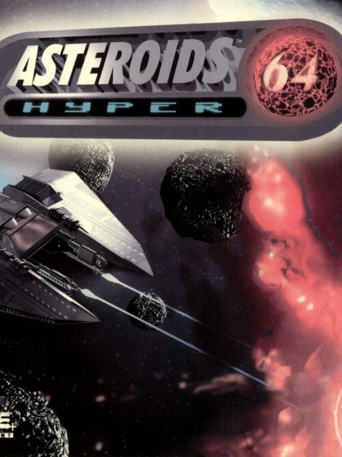 Cover for Asteroids Hyper 64.