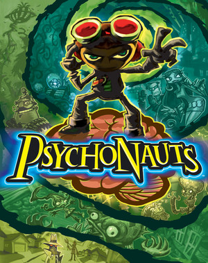Cover for Psychonauts.