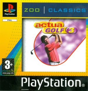 Cover for Actua Golf 3.