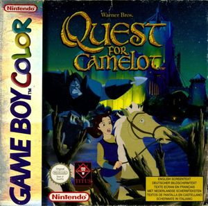 Cover for Quest for Camelot.