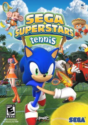 Cover for Sega Superstars Tennis.