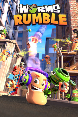 Cover for Worms Rumble.
