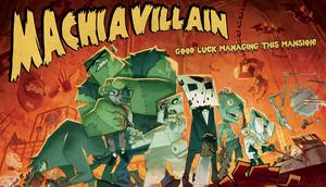 Cover for MachiaVillain.