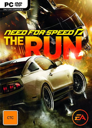 Cover for Need for Speed: The Run.