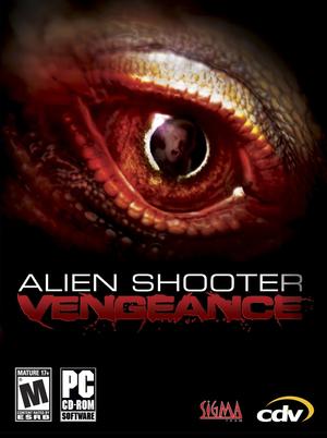 Cover for Alien Shooter: Vengeance.