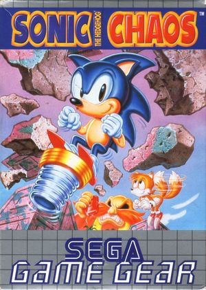 Cover for Sonic Chaos.
