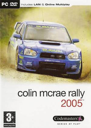 Cover for Colin McRae Rally 2005.