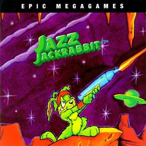 Cover for Jazz Jackrabbit.