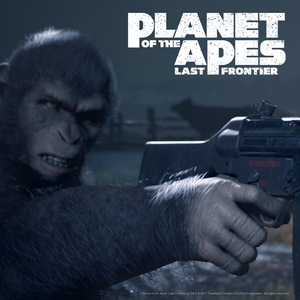 Cover for Planet of the Apes: Last Frontier.