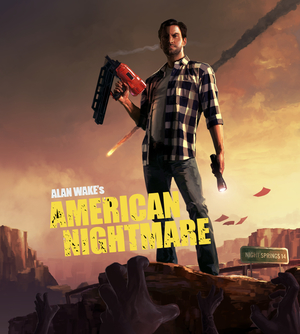 Cover for Alan Wake's American Nightmare.