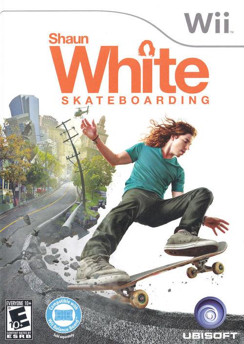Cover for Shaun White Skateboarding.