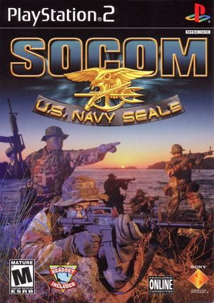 Cover for SOCOM: U.S. Navy SEALs.