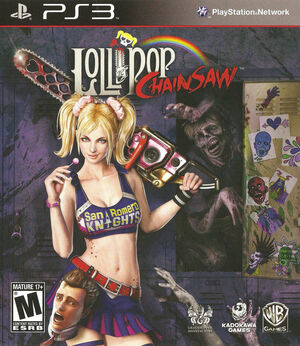 Cover for Lollipop Chainsaw.