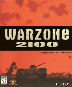 Cover for Warzone 2100.