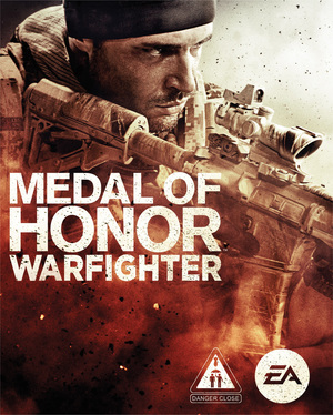 Cover for Medal of Honor: Warfighter.