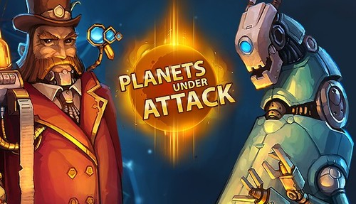 Cover for Planets Under Attack.