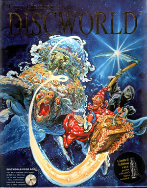 Cover for Discworld.
