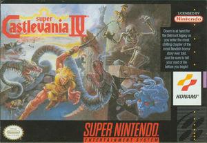 Cover for Super Castlevania IV.
