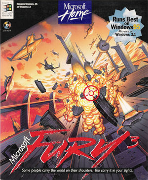 Cover for Fury3.