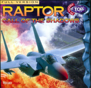 Cover for Raptor: Call of the Shadows.