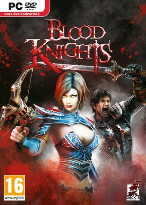 Cover for Blood Knights.