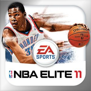 Cover for NBA Elite 11.