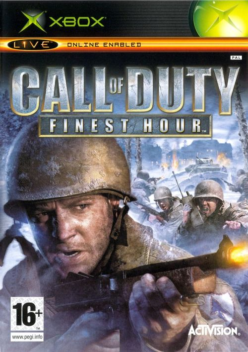 Cover for Call of Duty: Finest Hour.