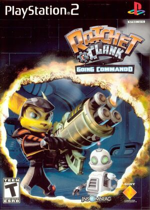 Cover for Ratchet & Clank: Going Commando.