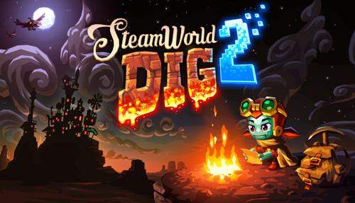 Cover for SteamWorld Dig 2.