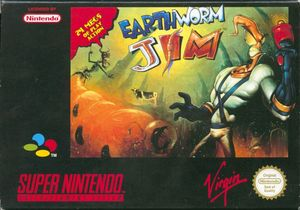 Cover for Earthworm Jim.