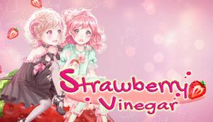 Cover for Strawberry Vinegar.
