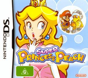 Cover for Super Princess Peach.