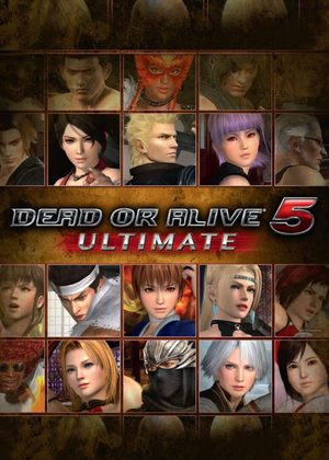 Cover for Dead or Alive 5 Ultimate.