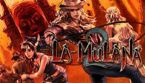 Cover for La-Mulana 2.
