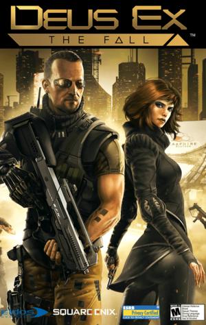 Cover for Deus Ex: The Fall.