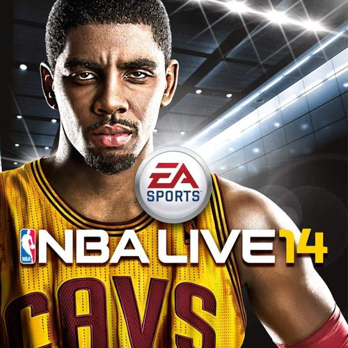 Cover for NBA Live 14.